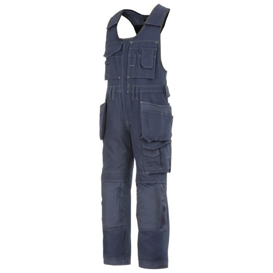 0214 Craftsmen One-piece Holster Pocket Trousers, Canvas+