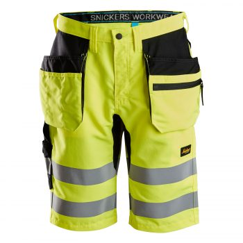 6131 LiteWork, High-Vis Shorts+ Holster Pockets, Class 1