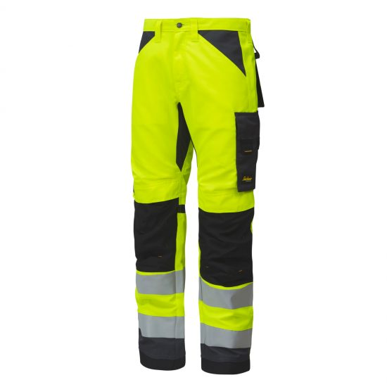 6331 AllroundWork, High-Vis Work Trousers+, Class 2