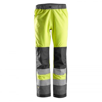 6530 AllroundWork, High-Vis Waterproof Shell Trouser, Class 2