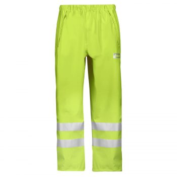 8243 High-Vis PU Rain Trousers, Class 2