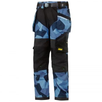 7505 FlexiWork, Junior Camo Trousers
