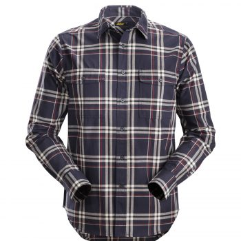 8502 RuffWork, Flannel Checked LS Shirt